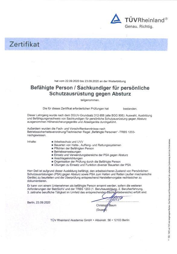 PSA gegen Absturz 22.-23.09.20_Clear